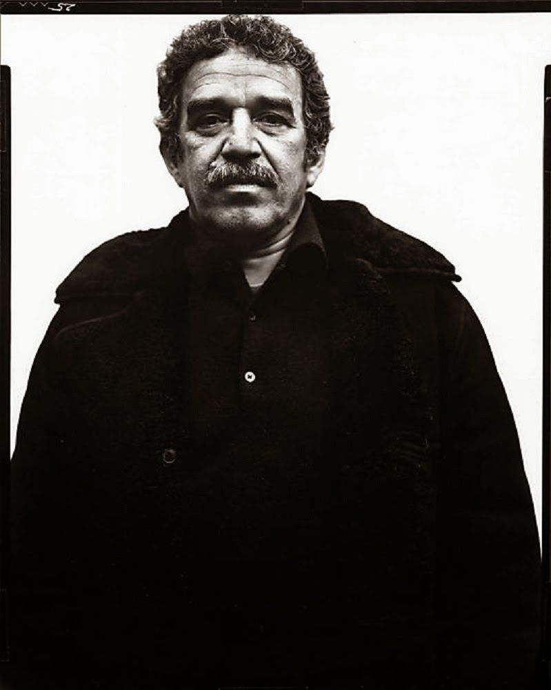 """""""What matters in life is not what happens to you but what you remember and how you remember it"""" -Gabriel García Marquez, 6 March 1927 – 17 April 2014 (photo by Richard Avedon)"""