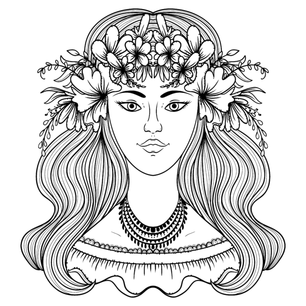 Flower Power Get Today S Pigmentdailydownload Available Now Pigmentapp Pixiteapp Freec People Coloring Pages Coloring Books Coloring Book Pages