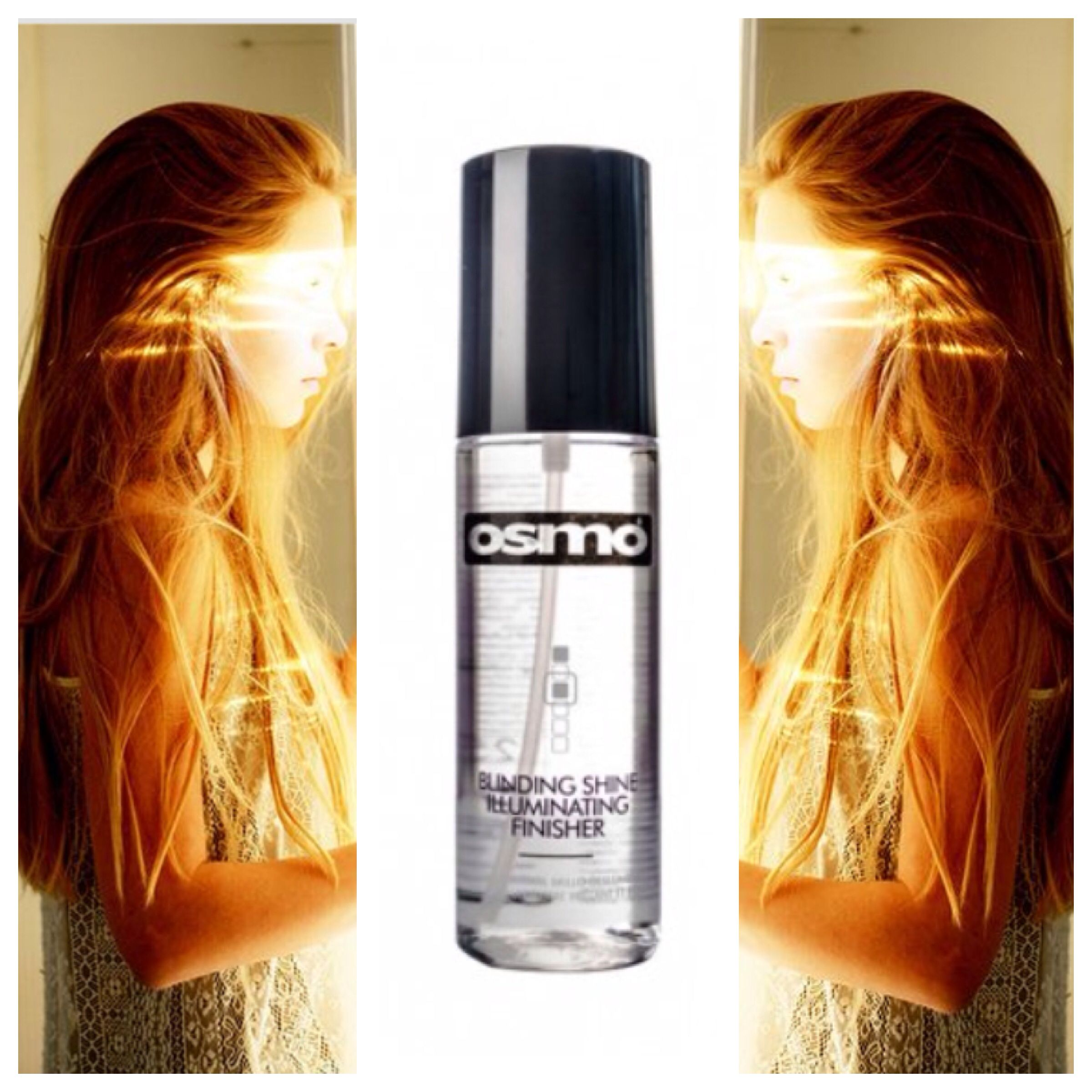 Osmo blinding illuminatingfinisher big shine beautiful hair