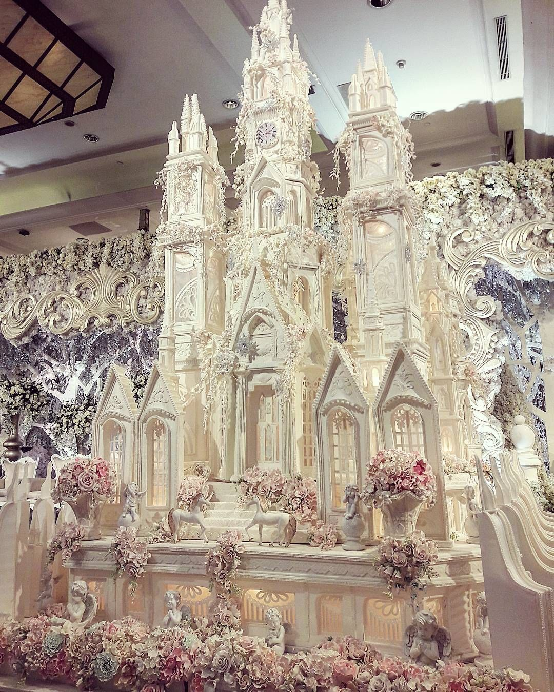 Big Castle Wedding Cake