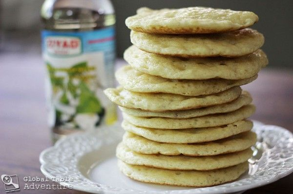 "Moroccan Honey Buttered Semolina ""Crater"" Pancakes"