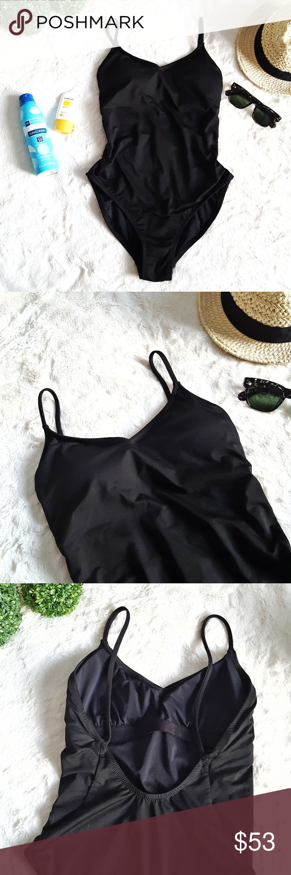 0d37baf145 NEW J.Crew Ballet one-piece swimsuit NWoT, Hygienic liner still intact.  Size 4 Long-torso ballet one-piece swimsuit in Italian matte.