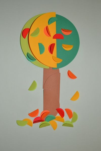 Tree Craft Autumn Crafts Fall Crafts For Kids Arts And Crafts For Kids