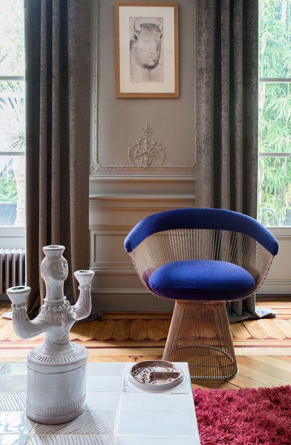 A flamboyant home in Le Marais desire to inspire