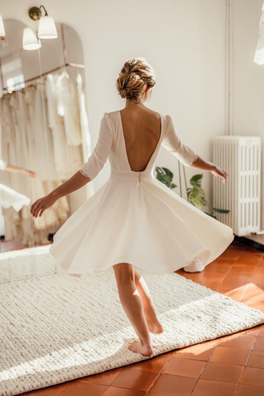 Labude Koeln - Kurzes Brautkleid Becky für das Standesamt