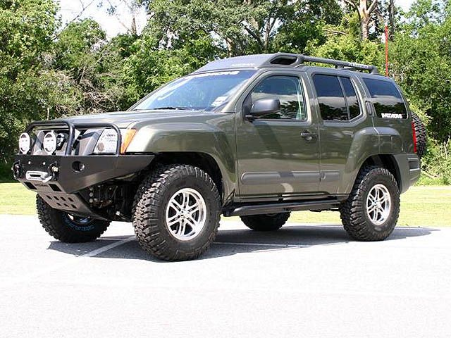 2005 Xterra Front Winch Bumper Bull Bar Rock sliders