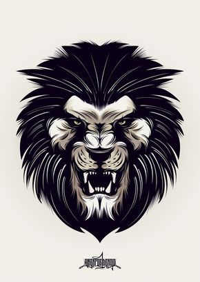 04ce5d743 Angry Lion | Stuff to buy | Lion tattoo, Lion, Lion images