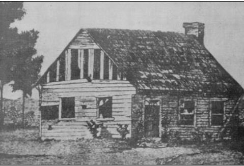 Henry House after the First Battle of Bull Run