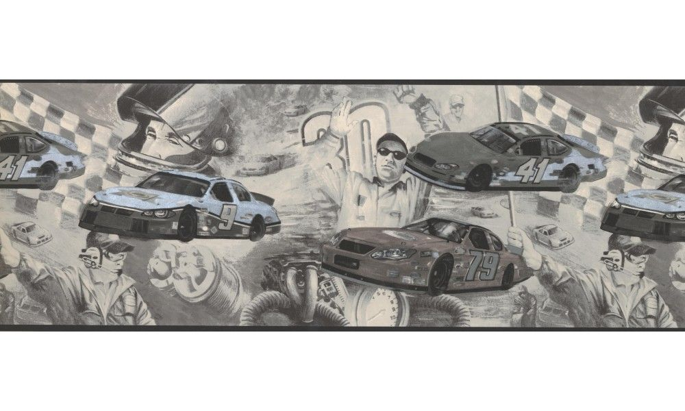8 3 4 In X 15 Ft Prepasted Wallpaper Borders Cars Wall Paper Border 062202 Ck Wallpaper Border Prepasted Wallpaper Wallpaper