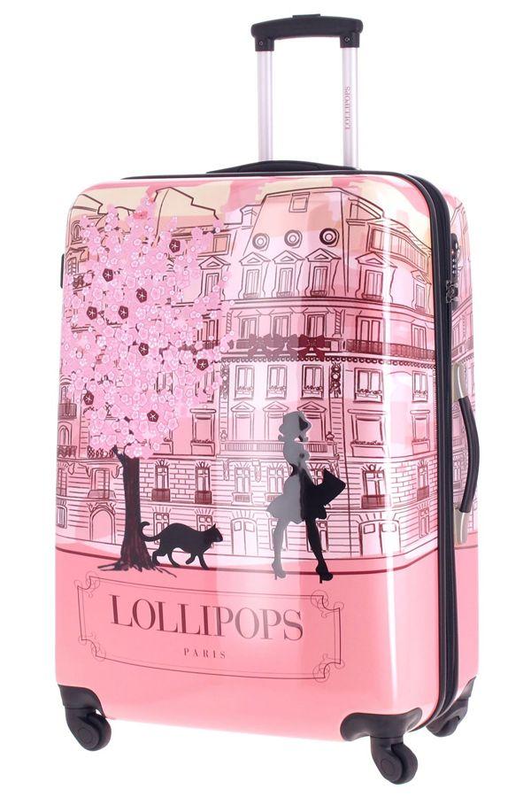 valise lollipops grand trolley rigide avec 4 roulettes de. Black Bedroom Furniture Sets. Home Design Ideas