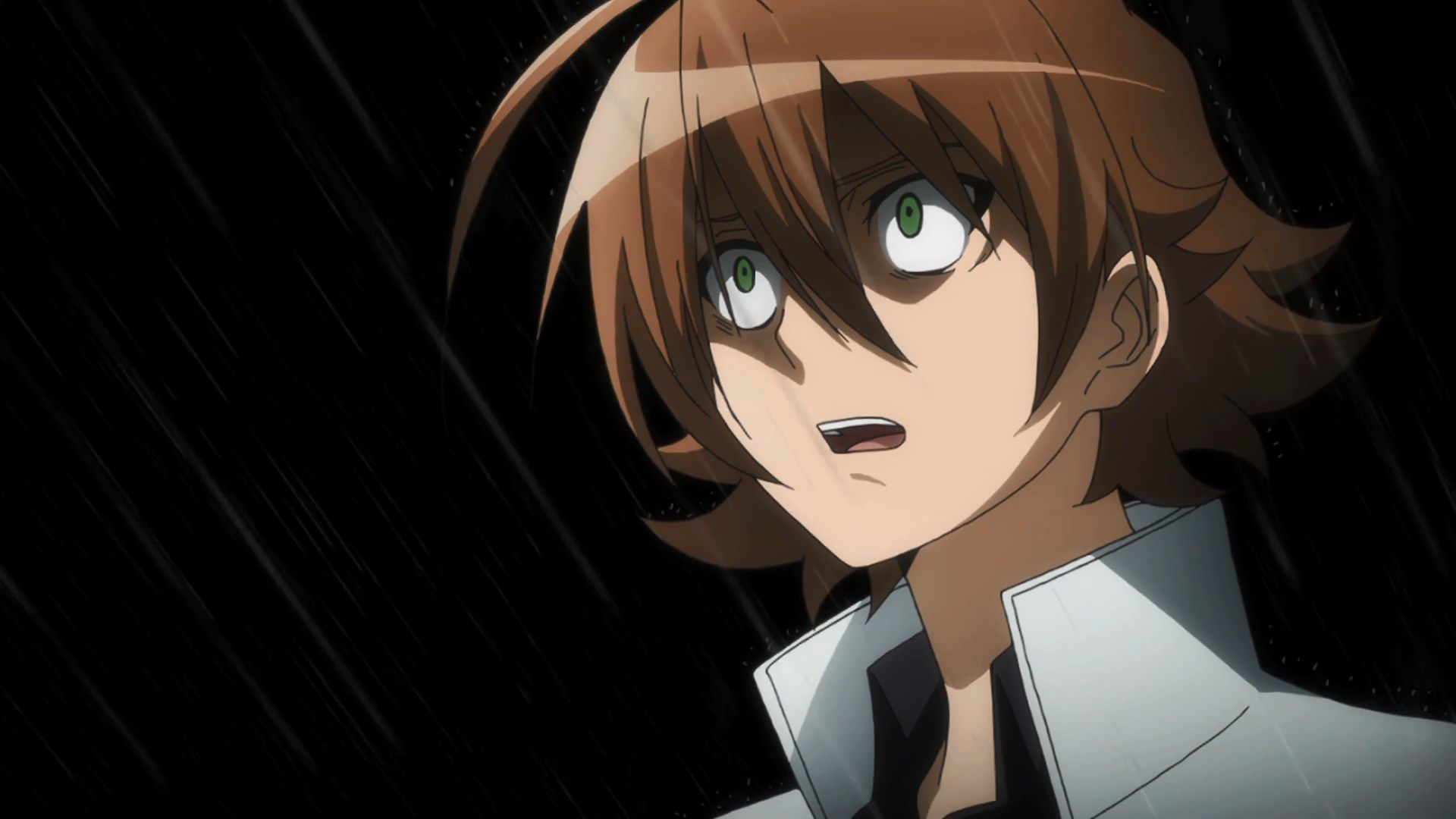 anime shocked anime shocked face crying spoilers akame
