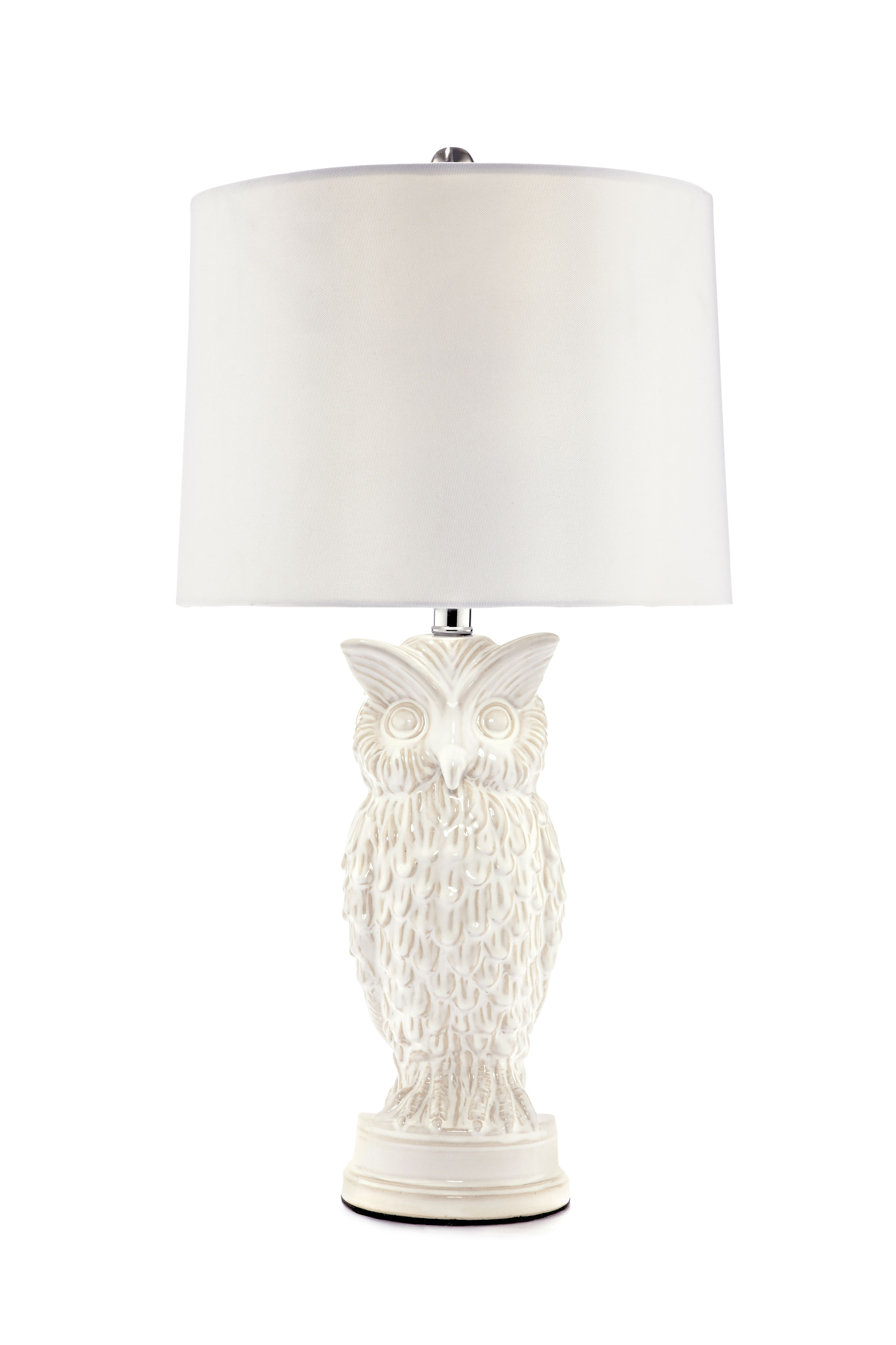 Turn On The White U2013 Owl Lamp JCPenney
