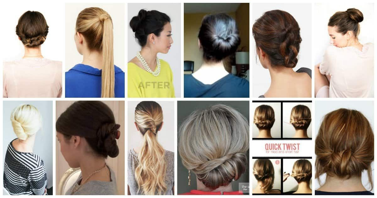 12 Easy Office Updos: Buns, Chignons & More for Busy for Professionals in 2020 | Interview ...