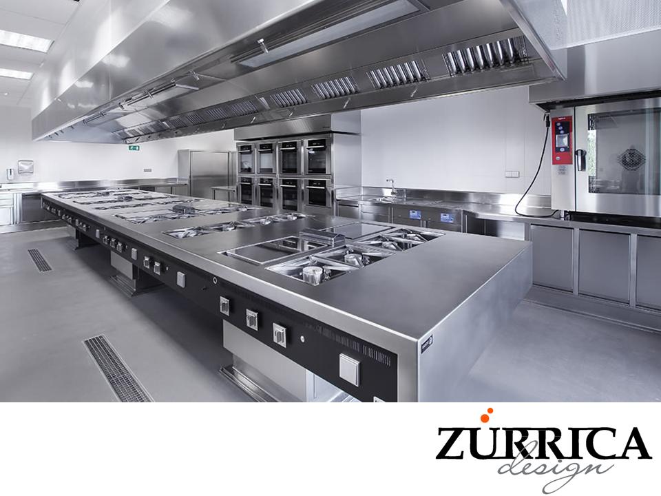 Las mejores cocinas industriales de acuerdo al giro de su for Mobiliario y equipo de cocina
