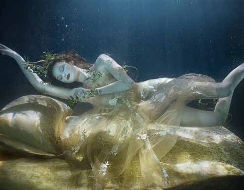 "Lydia Beesley and Franziska Klein in ""Dream Weavers"" by Zena Holloway for How To Spend It, May 2014"