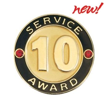 Service Award Pin 10 Years Service Awards Motivational Gifts Employee Gifts