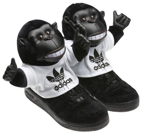Adidas Jeremy Scott Js Gorilla Gr Ali 44 Uk 9 5 Ali Gr