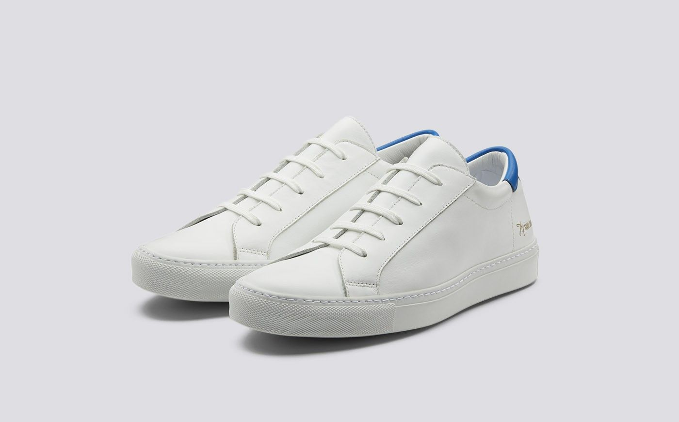 TN Ankle  Sneaker BlueWhite Athletic Shoe