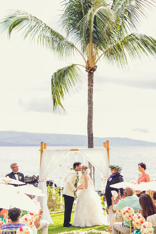 Tropical Elegance Sugarman's Estate Wedding Makena Hawaii | Maui Weddings | Maui Wedding Photographer | Photographer: www.caitlincatheyphoto.com