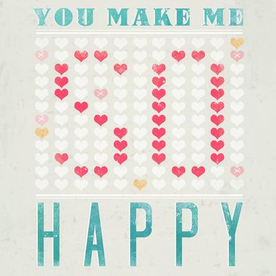 YOU MAKE ME SO HAPPY  by MEERALEE