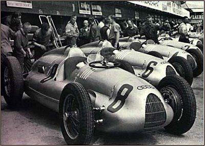 13 Cylinder Auto Union Audi Circa 1930 S Grand Prix Racing