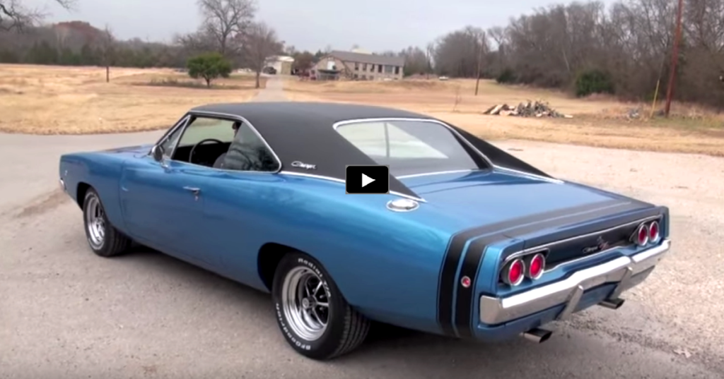 Stunning 1968 Dodge Charger R T In B5 Blue Dodge Charger 1968 Dodge Charger Plymouth Muscle Cars