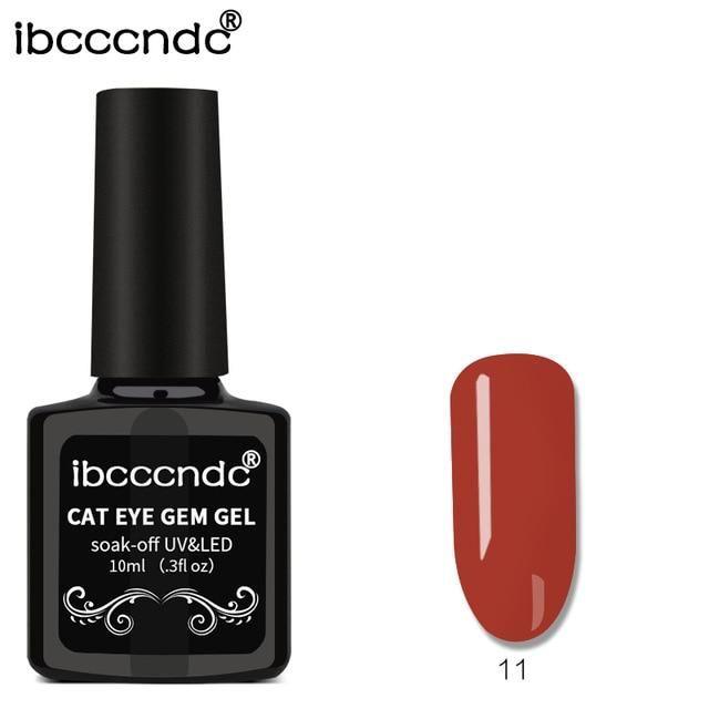10ml 3D Cat Eye Gem Nagellack Magnetic Gel Nagelgelpoliermittel einweichen   – Products