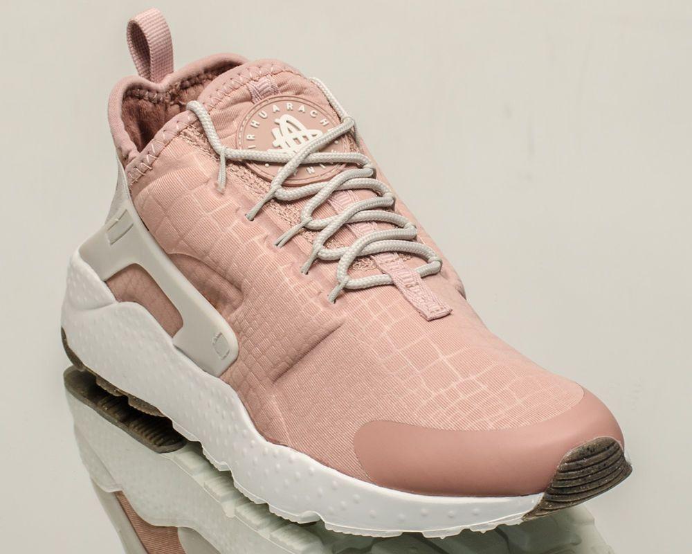 17363880c7b5 Nike WMNS Air Huarache Run Ultra women lifestyle sneakers pink bone 819151-603   Nike  FashionSneakers