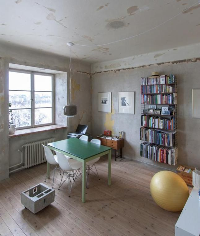 Un mini appartement à Stockholm