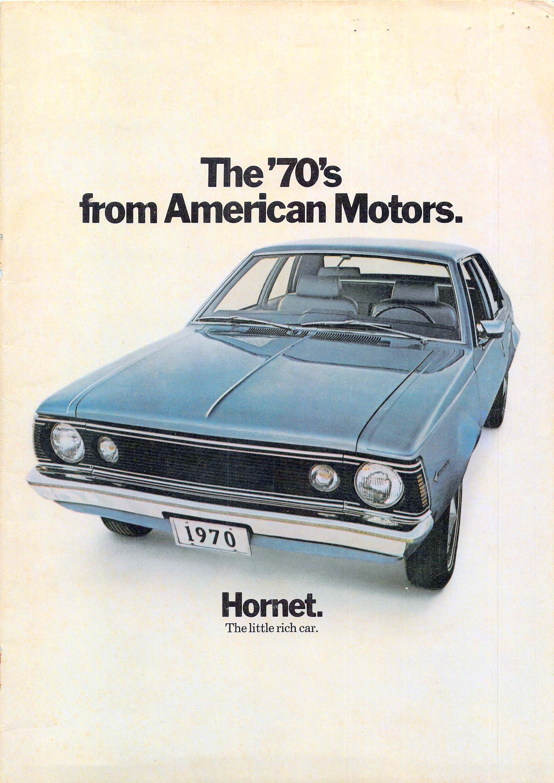 1970 Amc Consumer Brochure Amc Car Print Ads American Motors