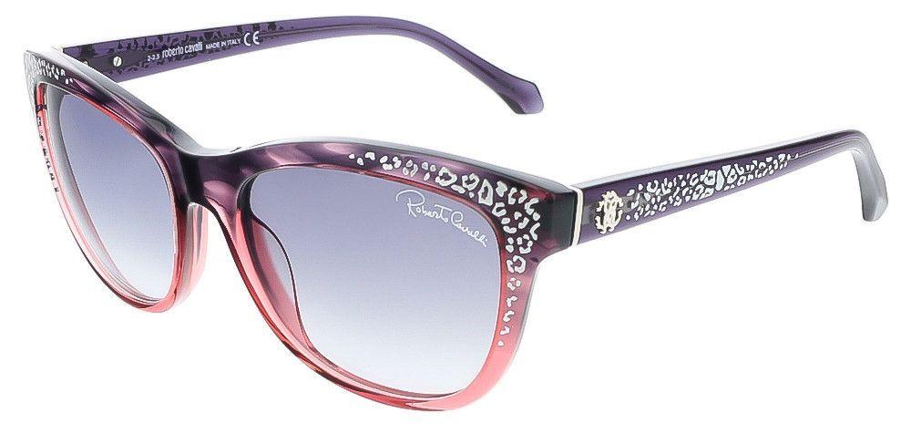 Roberto Cavalli RC991S/S 83B TSZE Purple/Rose Gradient Cateye sunglasses