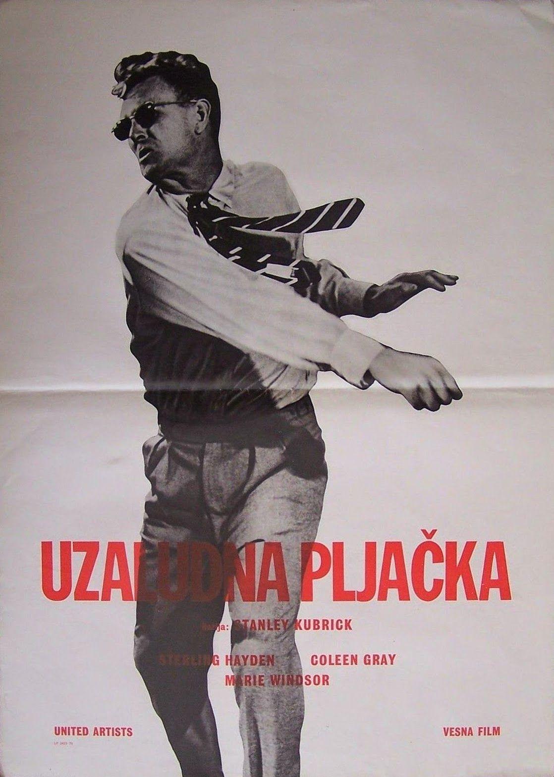 The Killing (Stanley Kubrick, 1956) Yugoslavian design
