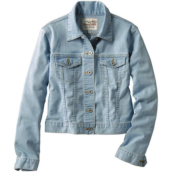 Women Denim Jacket B 60 Brl Liked On Polyvore Featuring