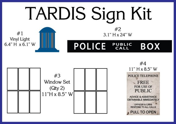 picture relating to Tardis Sign Printable titled TARDIS Doorway Indicator Package Products and solutions Tardis doorway, Tardis