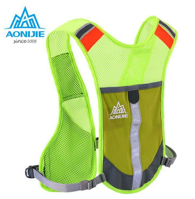 AONIJIE Men Women Lightweight Running Backpack Outdoor Sports Trail Racing Marathon Hiking Fitness Bag Hydration Vest Pack #Affiliate