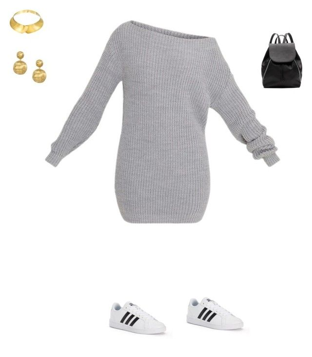 """""""Untitled #156"""" by selise-miles on Polyvore featuring adidas, Witchery, Alexa Starr and Marco Bicego"""