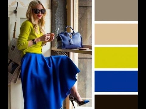 طريقة تنسيق الملابس مع الألوان المناسبة Colour Combinations Fashion Color Combinations For Clothes Color Blocking Outfits