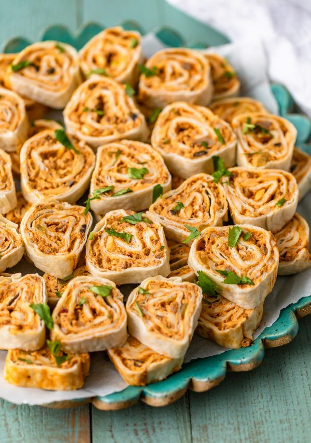 Mexican Pinwheels are a super simple and super tasty