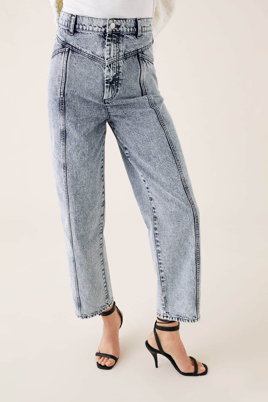 d8ae3587dc Zw premium '80s baggy jeans in acid blue in 2019 | fashion | Jeans ...