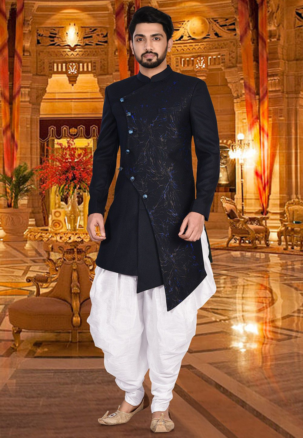 traditional wedding party dress for men