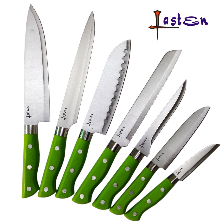 Lasten Piece Premium Kitchen Knife Set Stainless Steel Knives Set