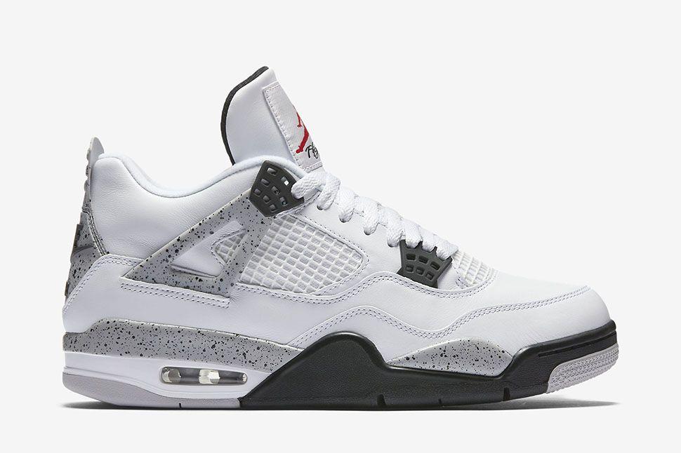 """nike air max ltd chaussures en vente - Air Jordan 4 Retro OG """"White Cement"""" - EU Kicks: Sneaker Magazine ..."""