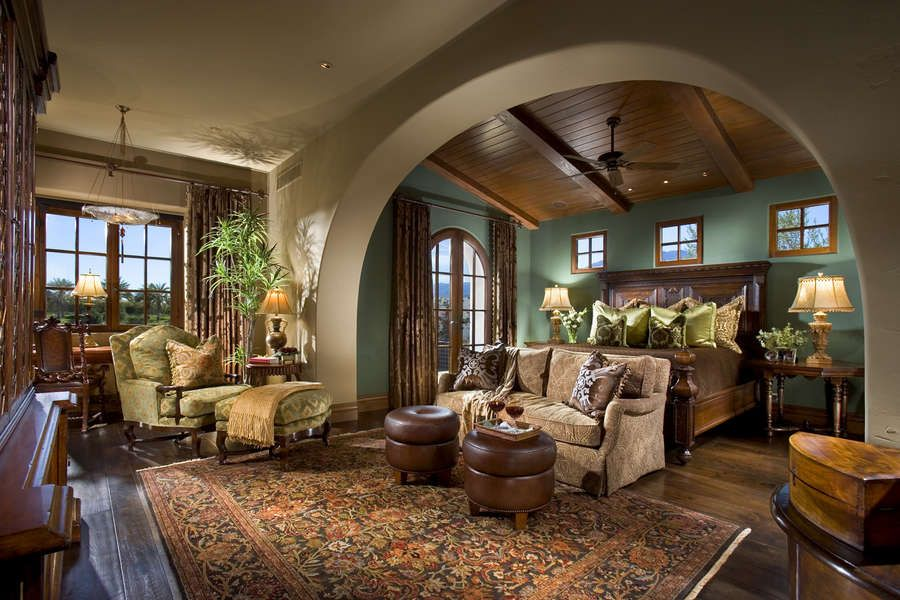 Marvelous Master Suite   Spanish Colonial Amazing Ideas