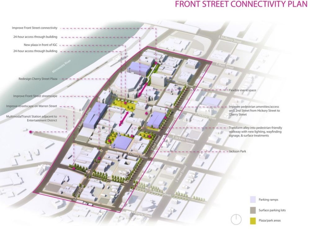 Portfolio Urban Design And Planning Damon Farber Urban Design Front Street Design Guidelines