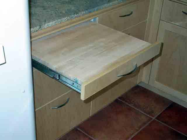Installing a pull out cutting board. Good idea or bad idea ...