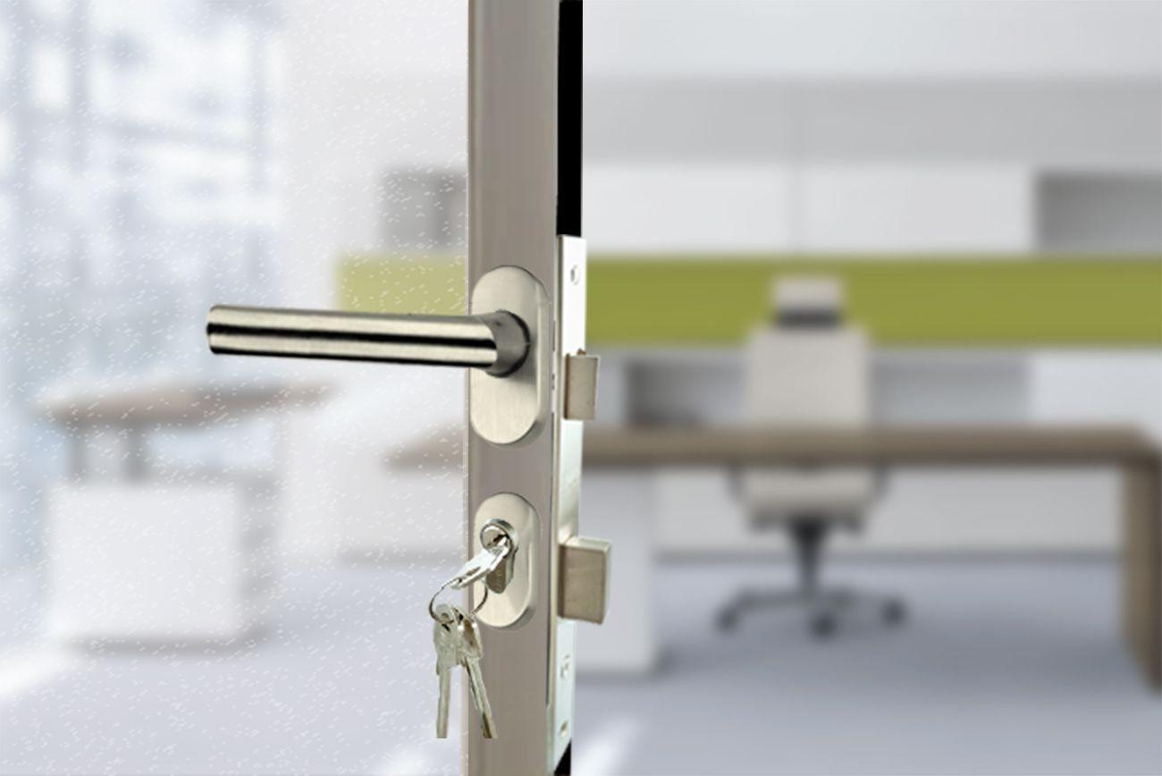 Cerradura Rossetta Para Puerta De Aluminio Puertas De Aluminio Diseno Ventanas Cerraduras Puerta