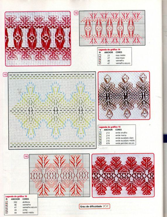 Gallery.ru / Фото #103 - asdf - keryan | swedish weaving | Pinterest ...
