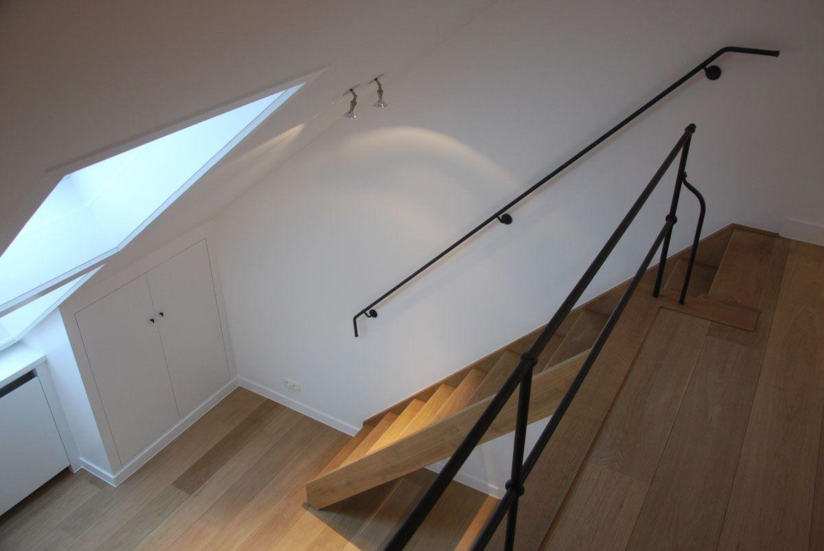 Anthracite interieur decoratie te berlaar lier trap