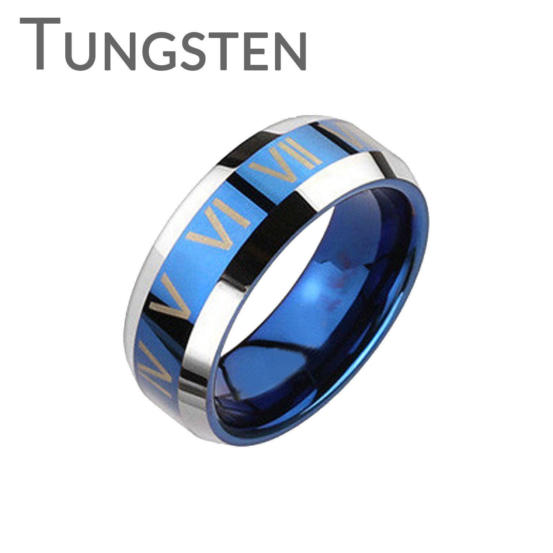 The Blue Roman FINAL SALE Trendy Design Roman Numerals Blue and