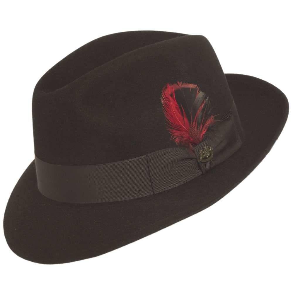 e45a1288f1d Biltmore Royal Pinch Fedora Hat - Black in 2019